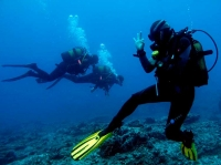 Diver, diving, Dive College Lanzarote
