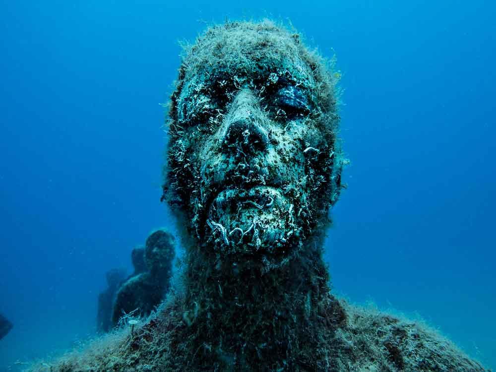 Onderwatermuseum, Museo Atlántico, Dive College Lanzarote