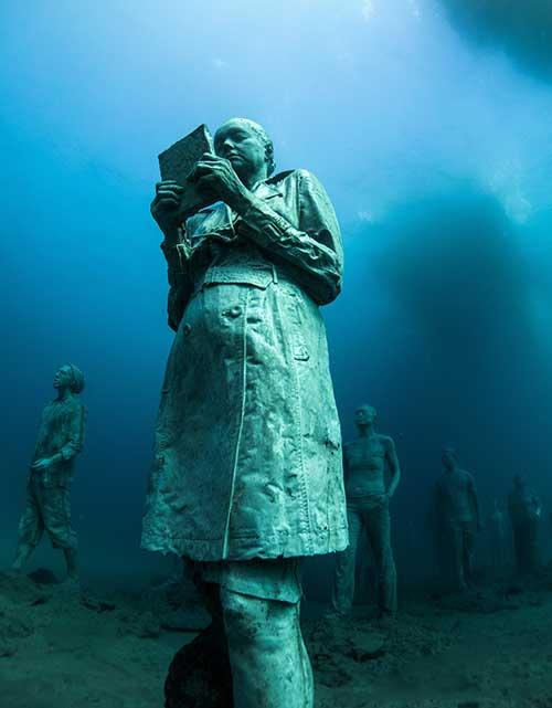 Museo Atlántico for beginners, Dive College Lanzarote, Playa Blanca