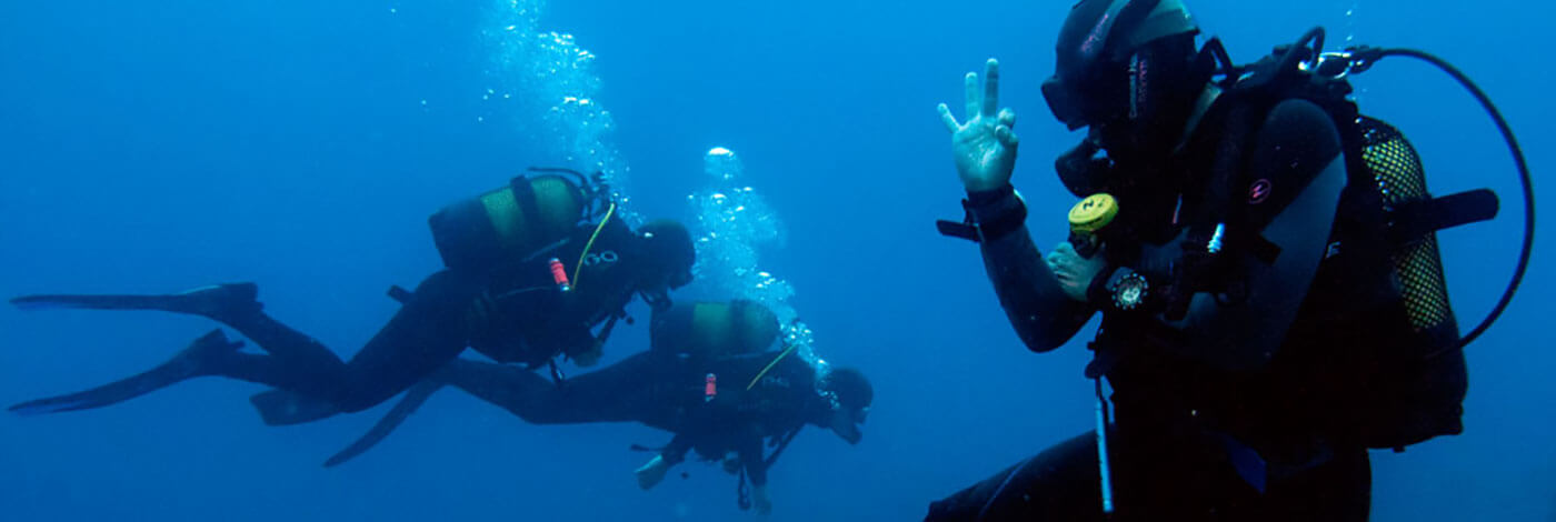 Certified Divers, Diving, Dive College Lanzarote