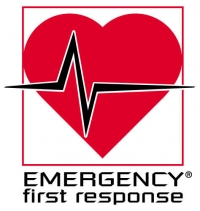 Emergency First Response, EFR, logo, primary, secondary care, first aid, AED, CPR