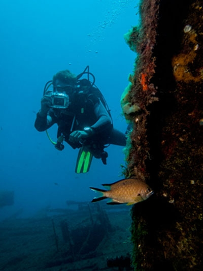 PADI, Adventure Diver, cours, Dive College Lanzarote, Playa Blanca