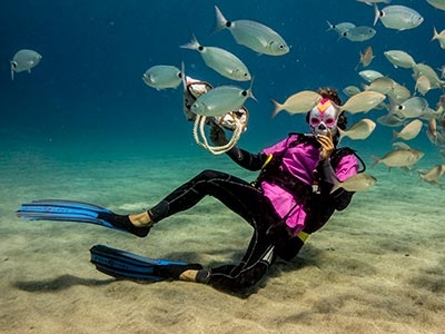 Jan Sturre, staff Dive College Lanzarote, Playa Blanca
